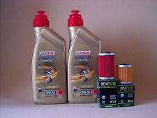 Castrol Alimentación 1 Carreras + Filtro de aceite KTM 690 Duke Enduro R SMC-R