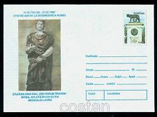 1997 The she-wolf,Founding of Rome,2750th anniv,Dacian,Forum,Romania-PS cover