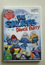 Nintendo Wii GAME - THE SMURFS DANCE PARTY - With Manual