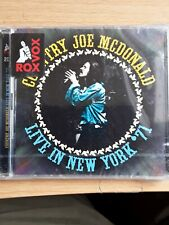 Country Joe McDonald - Live In New York '71 (2016)  2CD  NEW/SEALED  SPEEDYPOST