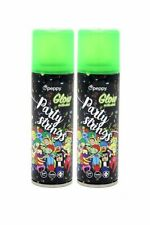 Pack of 2 Glow In The Dark Party Silly Stings Crazy Spray Wedding Hen Stag Do