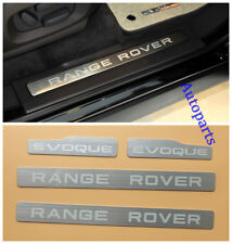 4PCS Door Step sill scuff plate For land Range Rover Evoque 4Door 2011-up