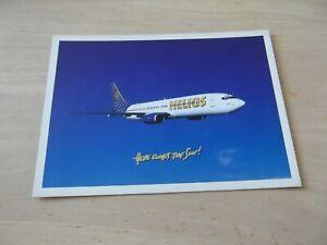Airline Issue HELIOS AIRWAYS Boeing 737 postcard