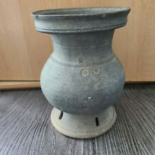 Antique Korean SILLA DYNASTY Vase Jar Stoneware Pottery