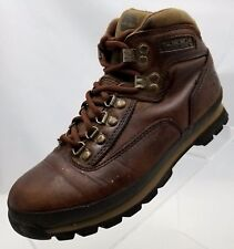 Timberland Boots Hiking Brown Leather Women's Lace Up Shoes Size 7.5M