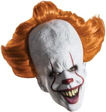 Pennywise IT Deluxe Clown Full Overhead Adult Latex Mask Halloween Rubies