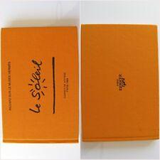 Hermes 1994 Le Soleil Carnet de Voyage Collector's Travel Notebook by Ph. Dumas
