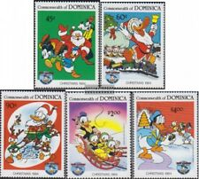 dominica 894-898 (complete issue) unmounted mint / never hinged 1984 Walt-Disney
