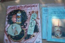 Jean Zawicki's Favorites HTF, signed & 2 added Patterns, Santa, Christmas