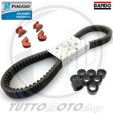 KIT CINGHIA CURSORI ORIGINALI RULLI BANDO PIAGGIO X10 350 4T 4V IE EU3 2012 2013
