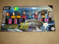 Star Trek,Pez,Candy,The Next Generation,25,Collector Series,#180144 of 200,000