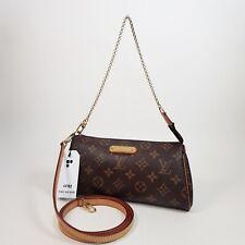 Authentic Louis Vuitton Eva Clutch Monogram M95567 Genuine Clutch Shoulder LC153