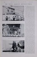 1897 BOER WAR INDIA HARBOUR DEFENCE FORCE LASCARS MUSKETRY DRILL MAGDALA