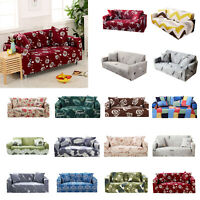 Printted Stretch Couch Sofa Lounge Covers Recliner 1 2 3 4 Seater Chair Cover