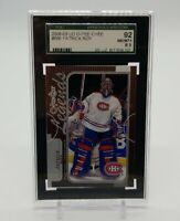 2008-09 UD O-Pee-Chee Legends PATRICK ROY SGC 92 8.5 NM+ Card Montreal Canadians