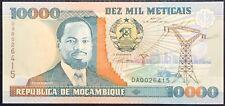 MOZAMBIQUE 10000 METICAIS 1991 UNC