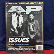 Alternative Press AP Magazine 337 Cover 4 August 2016 ISSUES Marilyn Manson