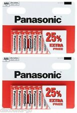 20 x AAA Panasonic Special ZINC AAA (R03, S) Size - 2 packs of 10 Batteries