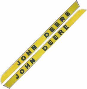 New John Deere Side Mouldings (raised letters) Pair. Suit 5020, 4020, 3010 etc.