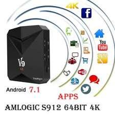 V9 4K ULTRA HD ANDROID BOX 2GB RAM 8GB S912 OCTA CORE SMART TV BOX