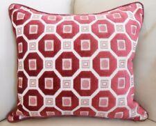 Velvet Geometric Square Decorative Cushions & Pillows