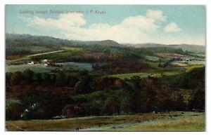 1912 Looking toward Ashfield from near J.P. Keyes, MA Postcard