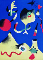 MIRO - L'AIR - VERVE ORIGINAL LITHOGRAPH - 1937 - FREE SHIPPING IN THE US  !!!