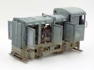 Resicast 1/35 Westinghouse 4wPE 45HP Petrol Electric Locomotive WDLR WWI 351300