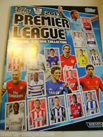 TOPPS PREMIER LEAGUE 2013  EMPTY STICKER  ALBUM  MINT CONDITION