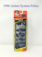 1996 Matchbox Action System Police 5 Pack Stock No. 060032 -21 NEW!
