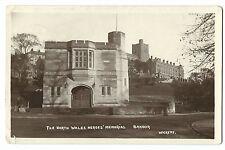 Scarce North Wales Heroes Memorial, Bangor RP PPC 1930 PMK by Wickens