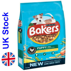 12.5 kg Bakers Puppy Rich in Chicken with Country Vegetables Vitamin D
