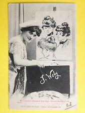 cpa 1900 Phot. BERGERET & Cie NANCY Minois de MIMI PINSON par Jacques WELY