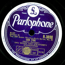CHU BERRY AND HIS STOMPY STEVEDORES Ebb tide / Limehouse Blues   78rpm X3326