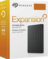 Seagate Expansion 2TB USB 3.0 Portable External Hard Drive XBOX PS5 PC HDD 2 TB