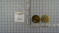 REPLACEMENT GEAR SET FOR UW 7/18 HOUR PIPE AND MINUTE HAND WITH MOON GEAR