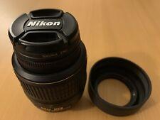 Nikon AF-S NIKKOR 18-55mm f/3.5-5.6G VR DX Zoom Lens F Mount With Bag and Filter