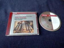 CD Organ Orgel Orgue HÄNDEL Concertos Chorzempa PHILIPS Oud Kerk Haarlem PDO