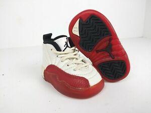 OG 1996 Jordan XII 12 Baby shoes Sz 2 crib cherry varsity red miniature