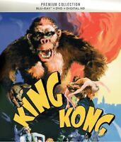 * KING KONG ( 1933 FAY WRAY ) HMV PREMIUM COLLECTION BLURAY DVD NEW & SEALED *