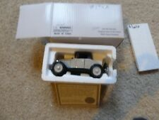 New 1928 CHEVY SERIES AB ROADSTER BY THE NATIONAL MOTOR MUSEUM MINT 1:32