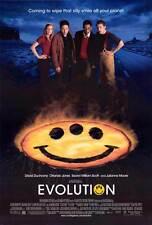 EVOLUTION Movie POSTER 27x40 David Duchovny Julianne Moore Orlando Jones Seann