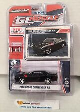 2010 Dodge Challenger R/T * BLACK * Greenlight GL Muscle * D7
