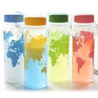 Clear My Sport Bottle Sport Fruit Juice Water Cup Portable 500ML Travel Bottle
