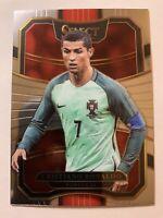 2017-18 Panini Select Cristiano Ronaldo Portugal #33 Soccer Card