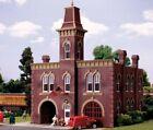 Woodland Scenics HO ~ New 2021 ~ With LEDs ~ Firehouse ~ Built & Ready ~ BR5034