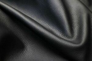 Cow Bovine Hide Skin Soft Nappa Upholstery Black 1.1mm Leather AA Top Quality