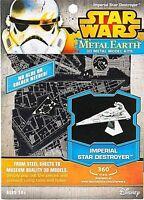 STAR WARS METAL EARTH 3D METAL MODEL MODEL KIT IMPERIAL STAR DESTROYER
