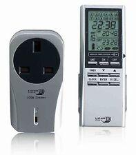 Accueil BYRON Facile timer remote control dimmable socket nouveau bnib he210 pour lumières