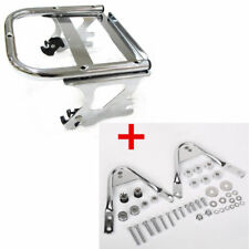 97-08 Harley Touring Detachable Two-Up Mount Luggage Rack + Docking Hardware Kit